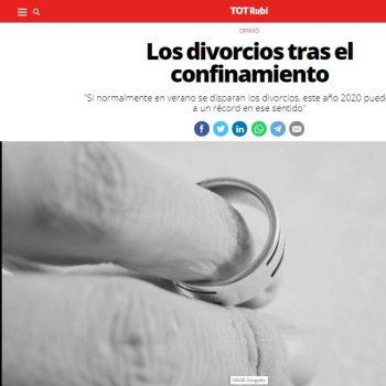 divorcios confinamiento